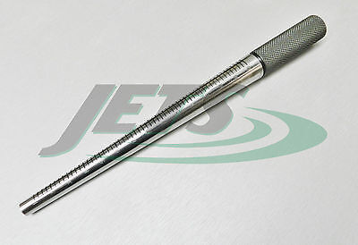 Steel Ring Mandrel Hardened Steel Marked 1-15 Un-Grooved Jewelry Making Tool JSP