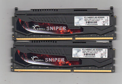 8GB (2X 4GB) DDR3  PC3-14900 1866 Mhz  Desktop Computer Memory PC Ram DIMM