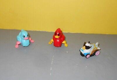 Rovio Angry Birds & Pig Go Telepods Karts Mini Micro Race Car w/ Roller Ducks
