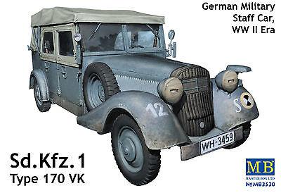 MASTER BOX™ 3530 WWII German Staff Car Sd.Kfz.1 Type 170 VK in 1:35