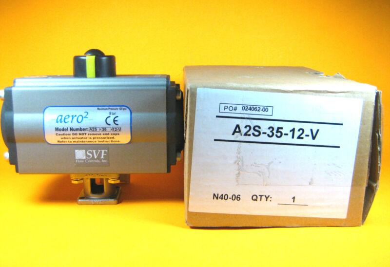 SVF Flow Controls -  A2S-35-12-V -  Aero2, Maximum Pressure 120 PSI (8 bar)