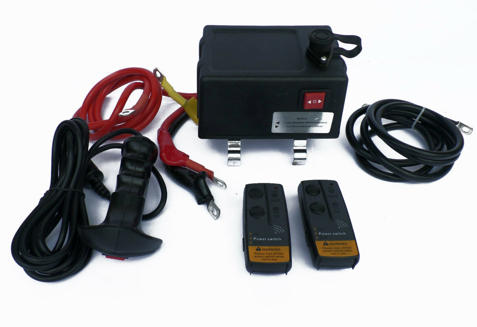 Details about Ultimate Winch solenoid control Box with remotes , 500amp on