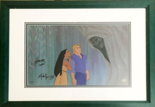 """Pocahontas"" VERY RARE SIGNED Limited Edition Hand painted Cel ""A Good Soul"""