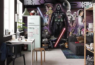 Star Wars Wall Mural photo Wallpaper 368x254cm Darth Vader Collage NO ADHESIVE