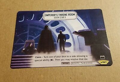 Emperor's Throne Room Promo Star Wars: Destiny FFG Full Art!