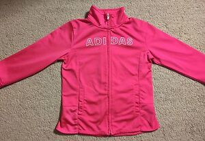 Girl's Adidas Pink Track Suit