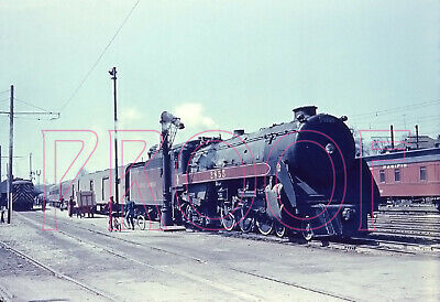 Canadian Pacific Railways (CP) Engine 2855 at Galt - 8x10 Photo