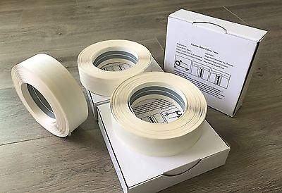3 Drywall Corner Bead Flex Metal Tapes Fit Inside And Outside Angle 100 Ft Ea.