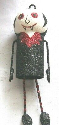 Halloween Home Decor Pier One (PIER 1 ONE DRACULA Halloween FALL ORNAMENT Hanging, DECORATION Tree ADORABLE)