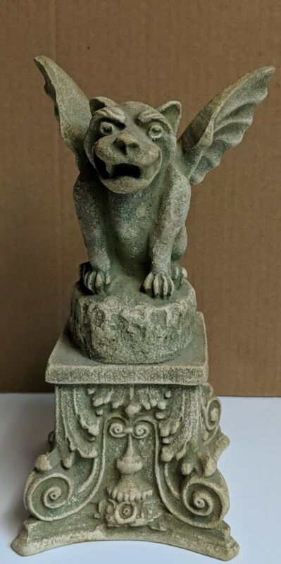 Gargoyle Candleholder Gargoyle Statue Medieval Gothic Mythicl SCA