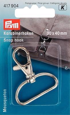 Karabinerhaken Haken 30 x 40 mm Prym 417904