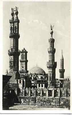 CAIRO - EL AZHAR MOSQUE 1935 - 2 Orig.Fotografien wohl LEHNERT & LANDROCK