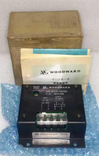 Woodward 8272-582 Apm Motor Control 100-220v Ac/dc 8272582