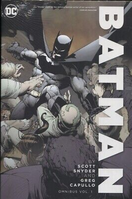 BATMAN BY SNYDER & CAPULLO OMNIBUS HARDCOVER VOLUME 1 / REPS #1-33 N52 SEALED