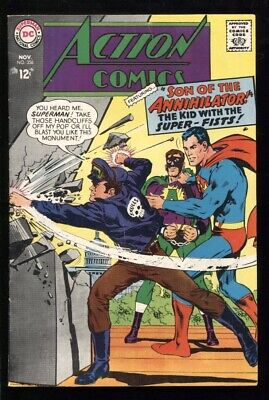 "ACTION COMICS (1938) #356 7.0 FN/VF ""THE SON OF THE ANNIHILATOR!"""