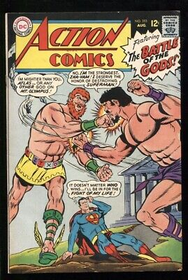 """ACTION COMICS (1938) #353 6.5 FN+""""THE BATTLE OF THE GODS!"""""""