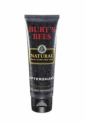 Men Care Natural - Burt's Bees Natural Skin Care For Men, Aftershave 2.5 oz
