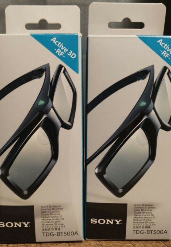 Sony TDG-BT500A Active 3D Glasses (2 Pairs) $60 for both. Price Firm! Exc Cond