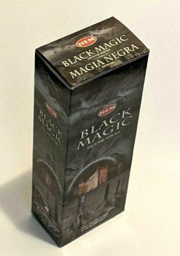 Hem Black Magic Incense Sticks (Hex Tubes - Retail Box - 120 Sticks Total)