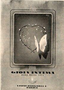 Pubblicita-vintage-Gioia-intima-Parma-profumo-donna-old-advertising-reklame-A1
