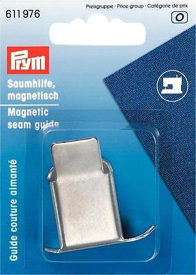Prym Kantenführer Saumhilfe magnetisch Magnet f. Nähmaschine Kantenlineal 611976