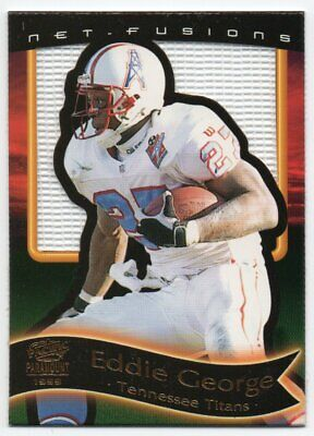 Tennessee Titans Nfl End - 1999 Paramount End Zone Net-Fusions 20 Eddie George Tennessee Titans Odd 1:73
