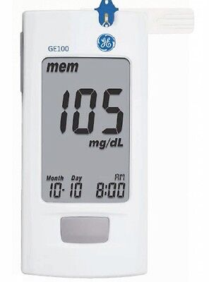New Veridian Ge100 Blood Glucose Blood Sugar Monitor System No Test Strips