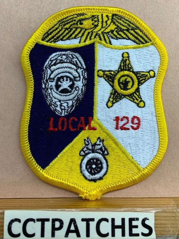 MICHIGAN TEAMSTERS LAW ENFORCEMENT LOCAL 129 POLICE PATCH MI