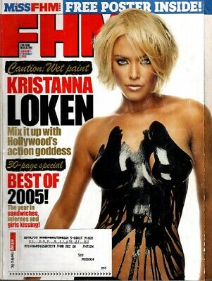 Lot of 2 - FHM - For Him Magazine  - February 2006 & June 2006