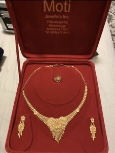 22K PURE GOLD SET