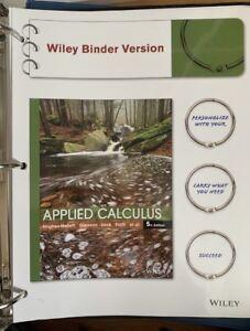 Applied Calculus UPEI Textbook (Math 1120)