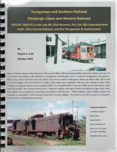 Youngstown & Southern Railroad; Pittsburgh, Lisbon & Western Railroad