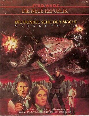 Star Wars Rollenspiel Roleplaying  Fasa DIE DUNKLE SEITE DER MACHT Quellenbuch