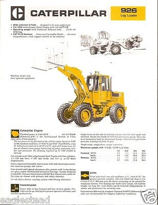 caterpillar logging equipment