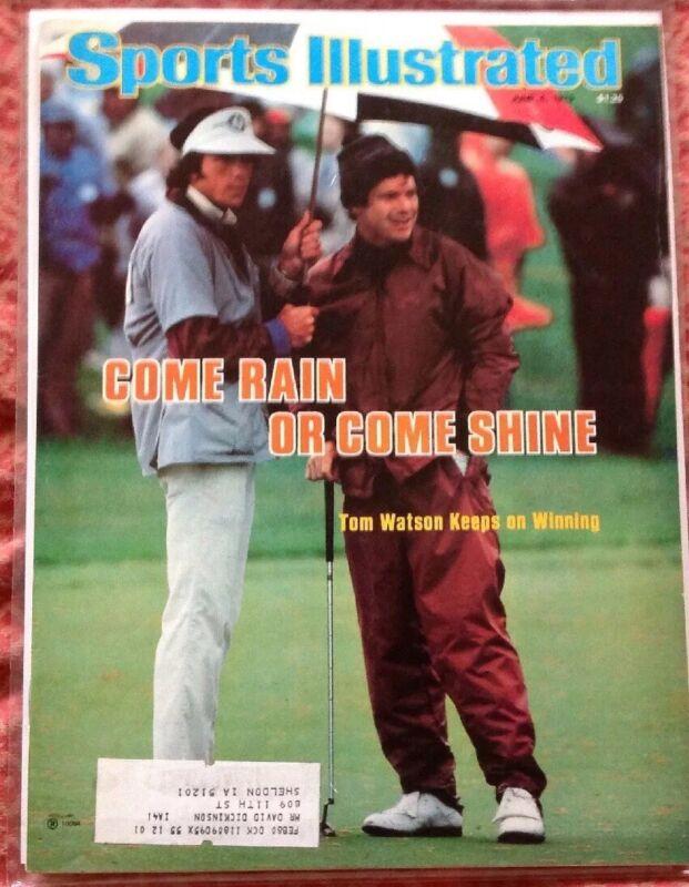 SPORTS ILLUSTRATED JUNE 4th 1979 TOM WATSON WINS MEMORIAL TOURNAMENT GOLF PGA