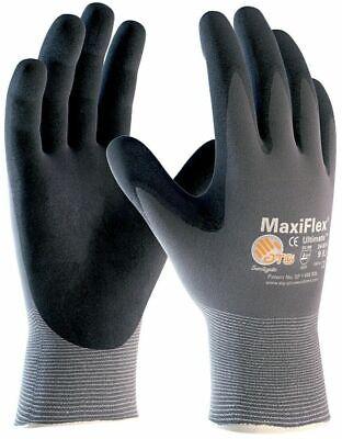 ATG Arbeitshandschuhe Maxiflex Ultimate Montagehandschuhe Nitril Nylon 7 8 9 10