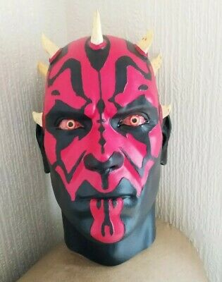 Life Size Star Wars Darth Maul Bust Prop Head