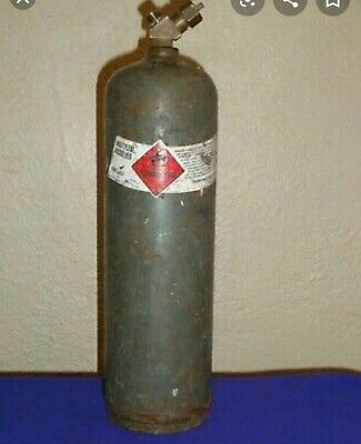 Mc 10 Cf Acetylene Tank Cylinder Hvac Welding Tank Full Local Pickup Only