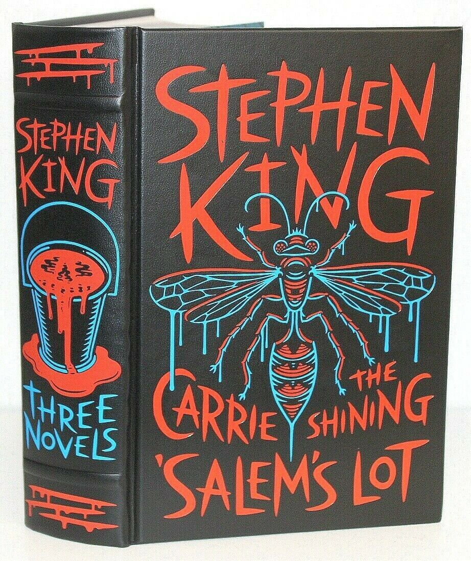 Stephen King Book Collection Salems Lot Hardcover Carrie The