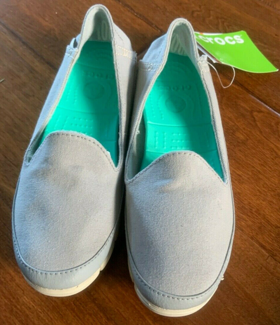 NEW Women's Crocs Stretch Sole Skimmer Slip On Loafers/Shoes