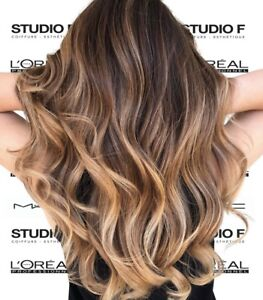 Balayage Ombre Highlights Color Cut