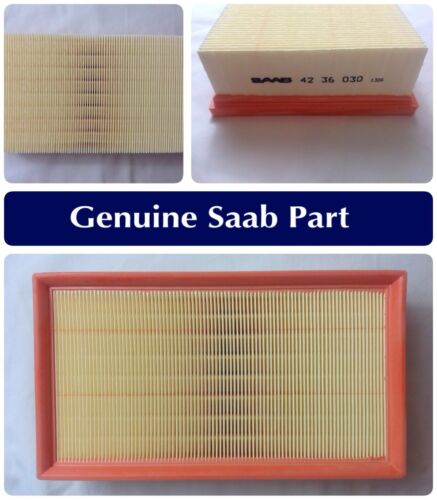 GENUINE SAAB 900 / 93 1994-2000 Air Filter 4 Cylinder Petrol Engine B204 4236030