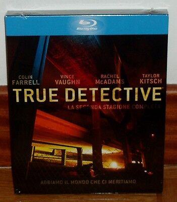 TRUE DETECTIVE-2º TEMPORADA-3 DISCOS BLU-RAY-NUEVO-NEW-CASTELLANO-**(SIN ABRIR)*