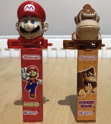 Klik Mario And Donkey Kong Sweet Dispensers. Like Pez.