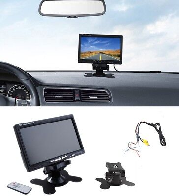 - 7'' inch TFT LCD Color Screen 2 Video Input Car Rear View Camera DVD VCR Monitor