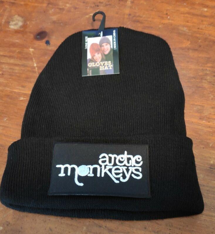 Artic Monkies Skull Cap Hat Winter Cuff Hat