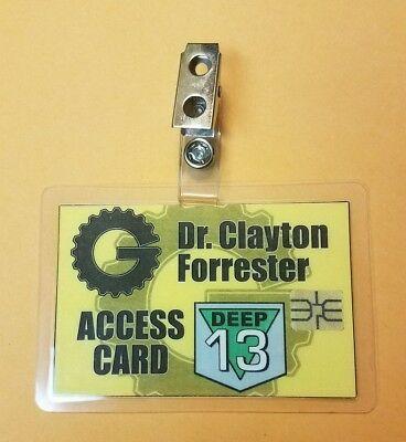 schaft Theater 3000 Id Badge-Dr Clayton Forrester 13 Kostüm (Wissenschaft Kostüm)