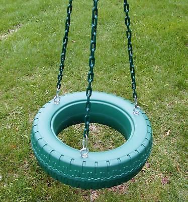 Swing set,tire swivel swing chains,Playset tirekit,Zinc Plated eyebolts,PVC54YBG