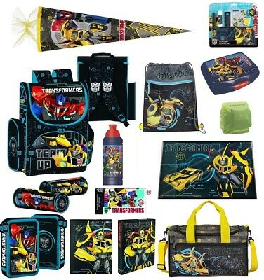 Transformers Schulranzen Set 21tlg. (PL) Schultüte 85cm Sporttasche uvm.