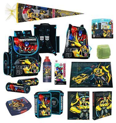 Transformers Schulranzen Set 20tlg. (PL) Schultüte 85cm Federmappe gefüllt uvm.
